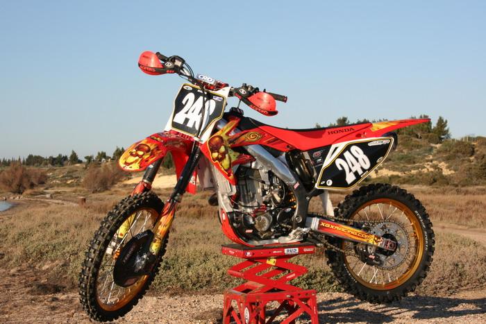 Piece moto cross honda