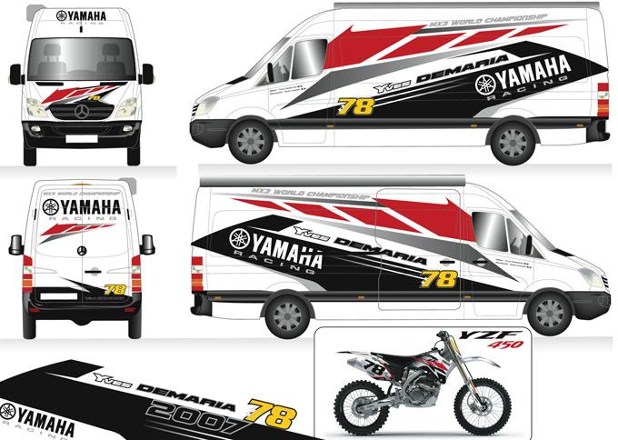 yves demaria vend son camion premier motocross com. Black Bedroom Furniture Sets. Home Design Ideas
