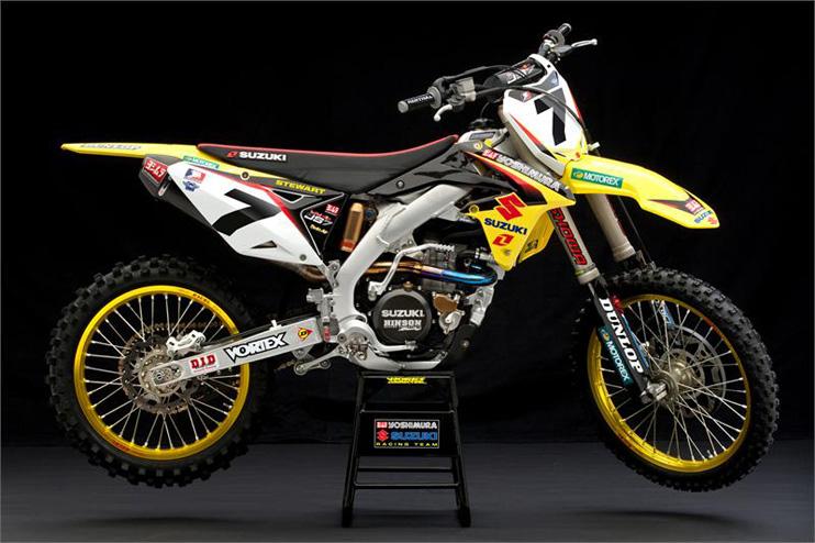 officiel james stewart signe chez suzuki premier motocross com. Black Bedroom Furniture Sets. Home Design Ideas