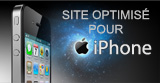 Site optimisé pour iphone
